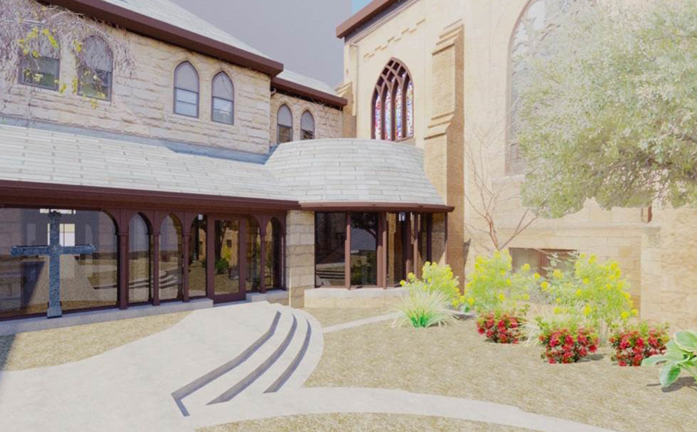 Grace Episcopal Church Rendering