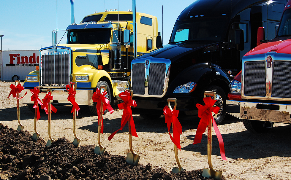 Kenworth Groundbreaking