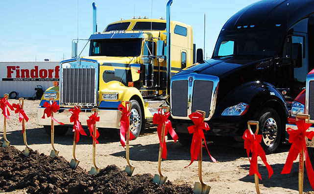 Local Truck Dealership Groundbreaking Ceremony