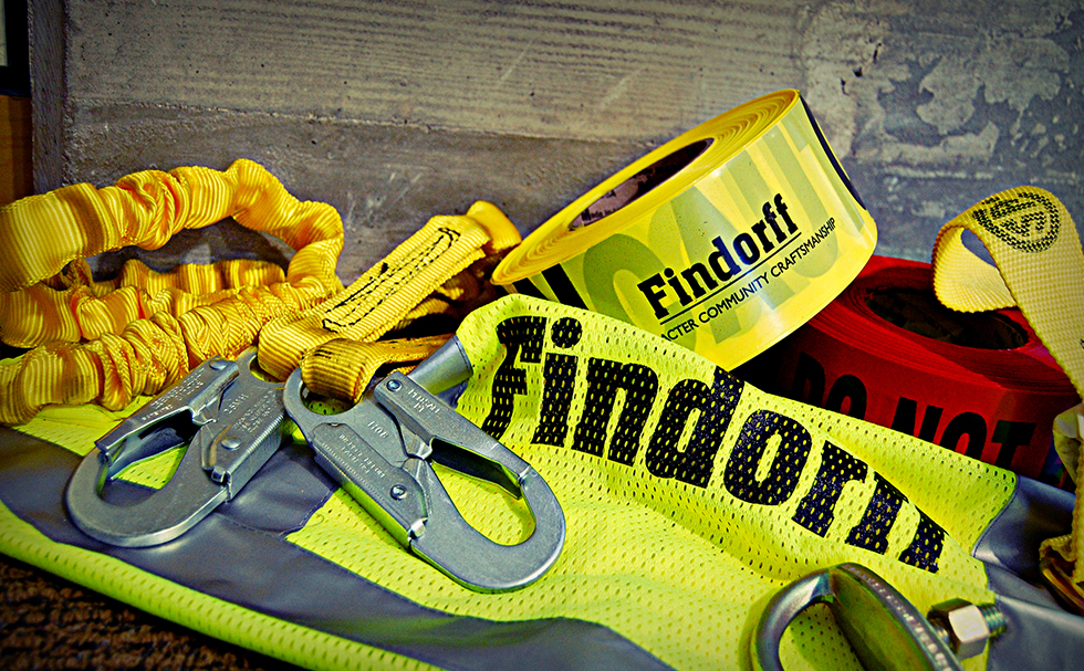 findorff safety equipment