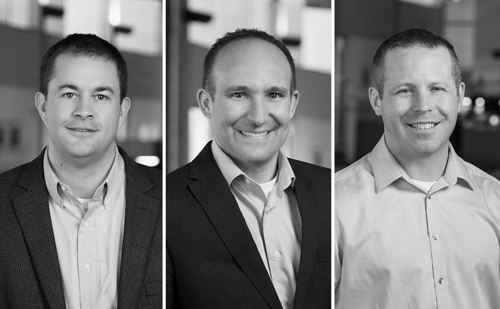 Matt Breunig, Chad Eschler and Mark Premo are Promoted