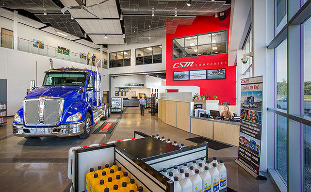 CSM Companies New Dealership Interior Photo