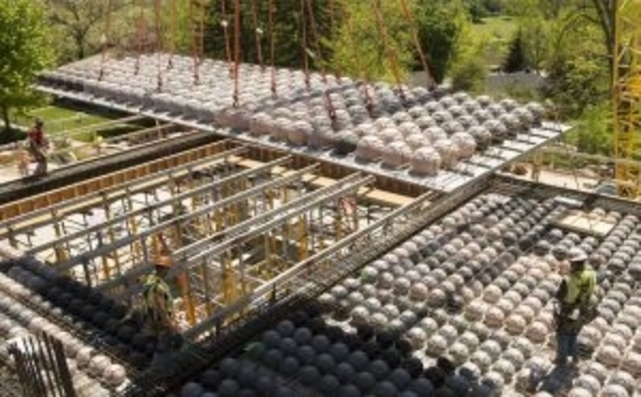 BubbleDeck: Replacing Concrete With Air