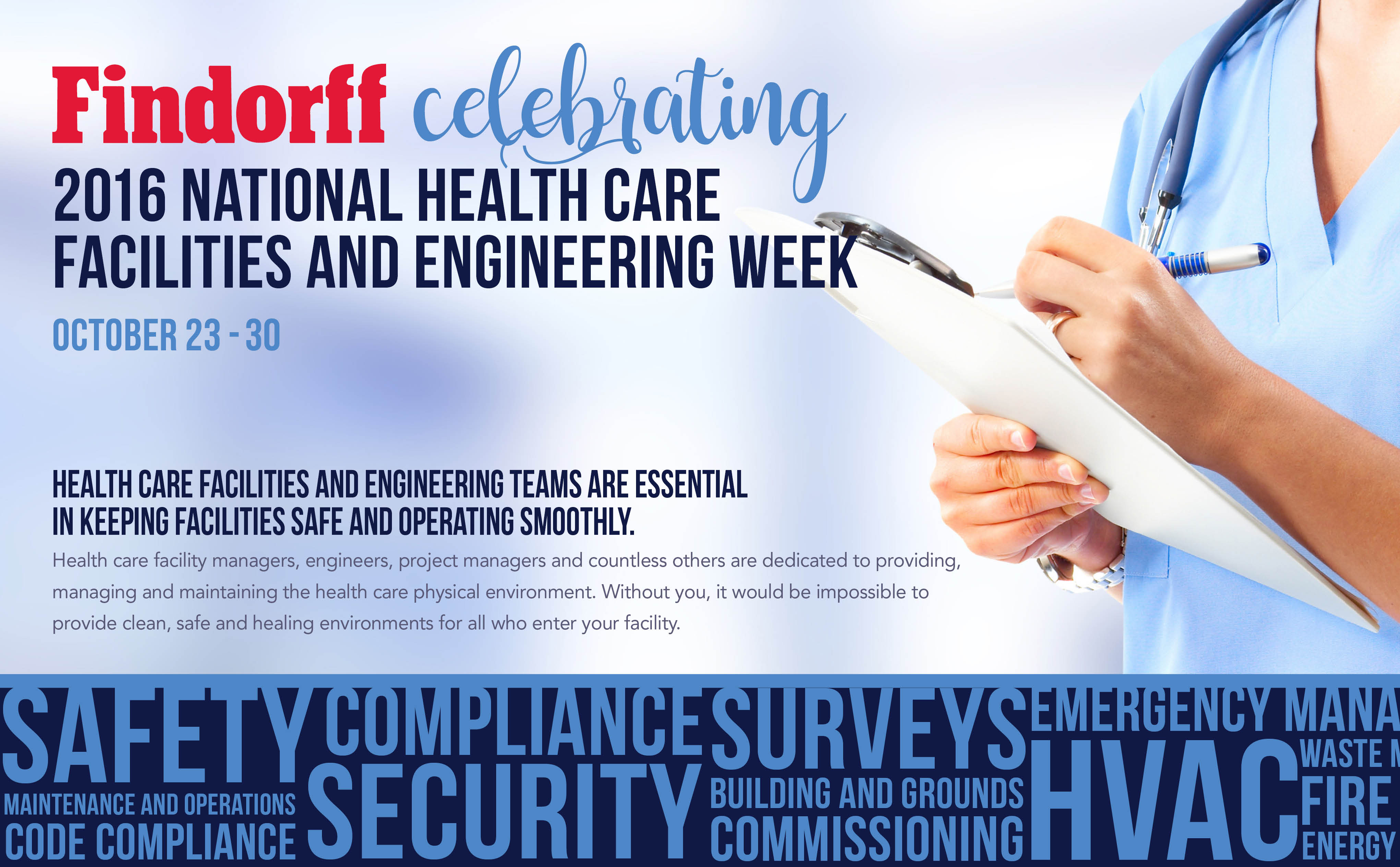 2016 National Healthcare Facilities and Engineering Week