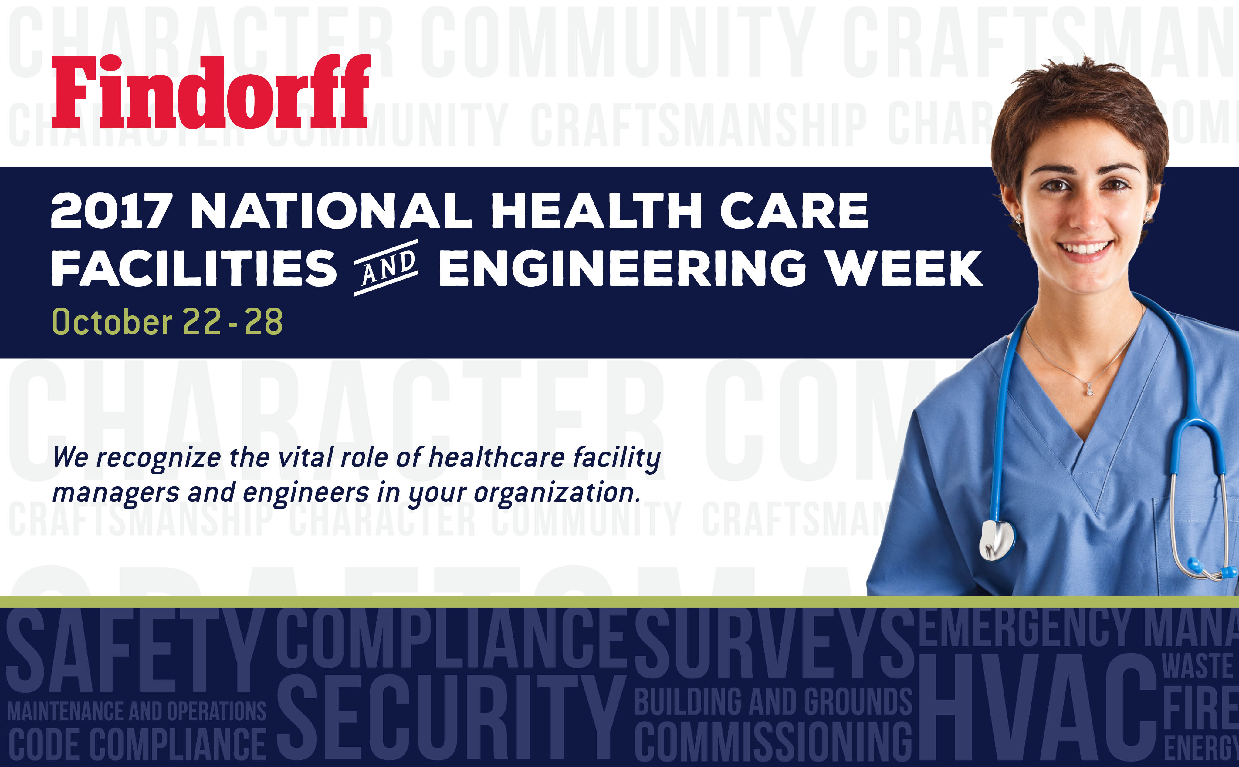 2017 National Healthcare Facilities and Engineering Week Blog image