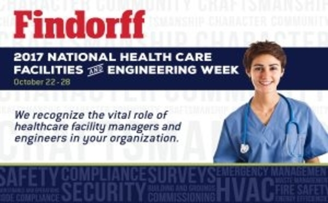 National Healthcare Facilities And Engineering Week Recognition