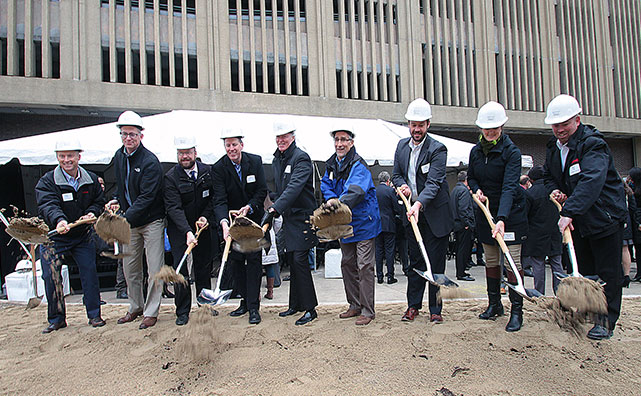 BMO Tower groundbreaking ceremony