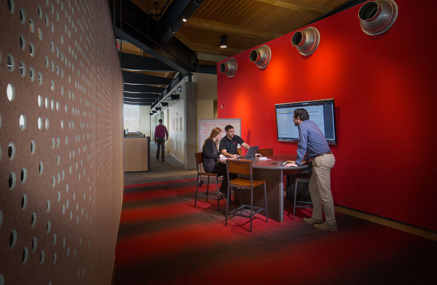 Findorff madison office collaboration space
