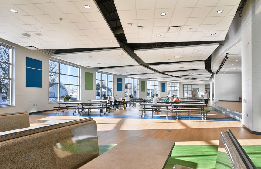 view of cafeteria