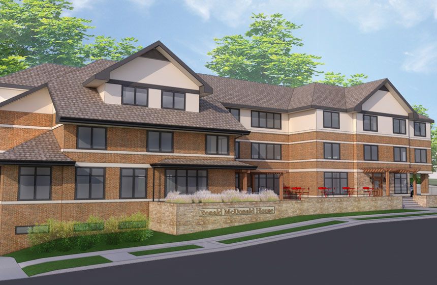 Ronald McDonald House Charities Expansion Rendering