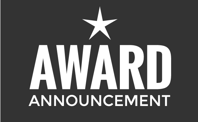 Award announcement
