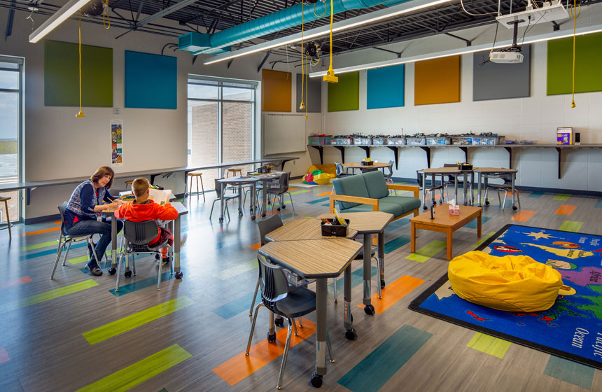 School District of Belleville Flex Classroom