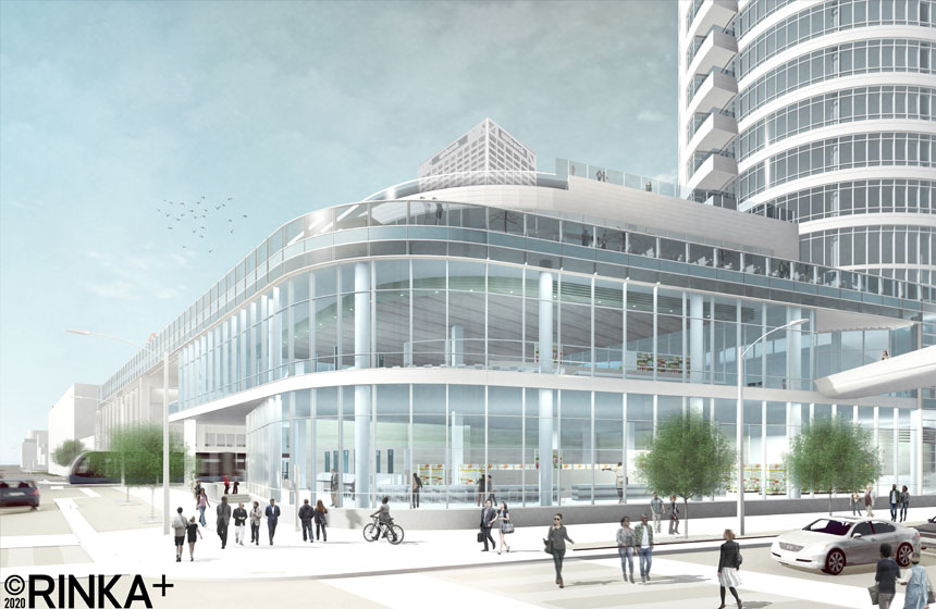 Couture exterior rendering