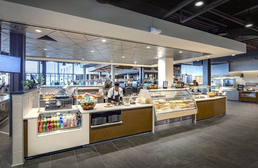 Exact Sciences Amenities Interior Cafeteria