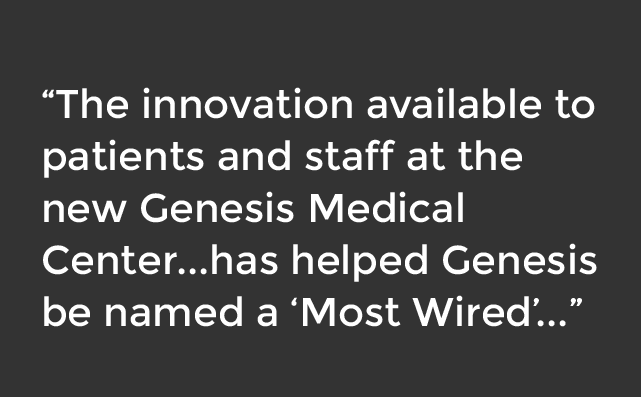 Genesis Medical Center named most wired hospital
