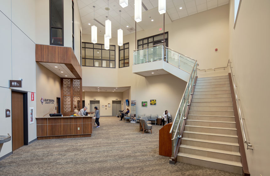 Grant Regional Health Center Main Lobby