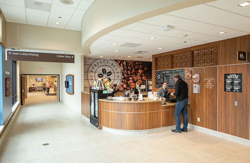 Grant Regional Health Center Coffee Shop