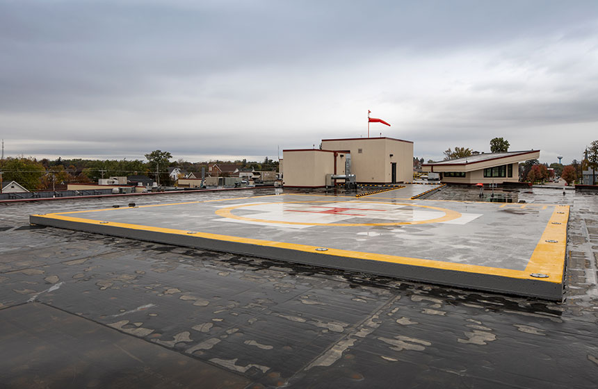 Grant Regional Health Center Heliport