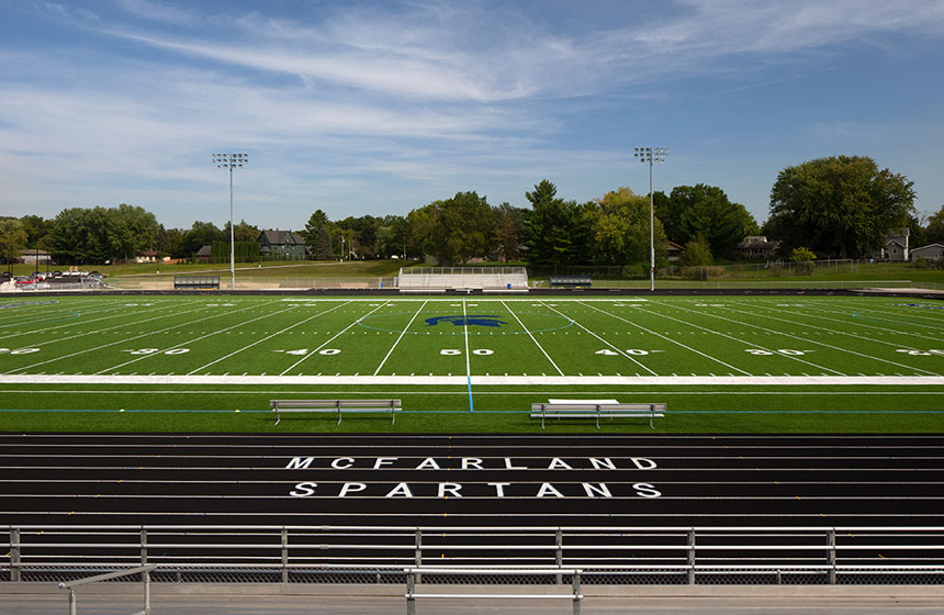 McFarland High School Field Exterior