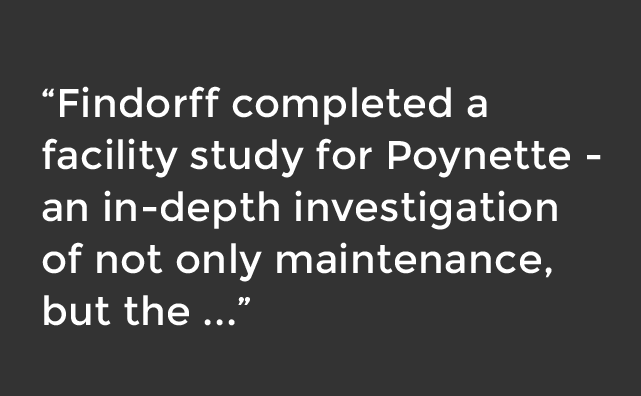 Findorff completed facility study for Poynette School District