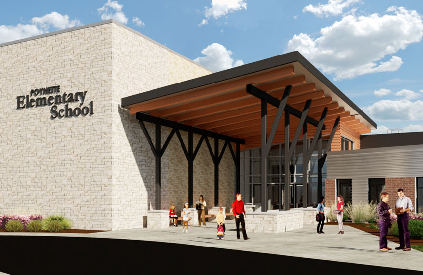 School District of Poynette Elementary Rendering