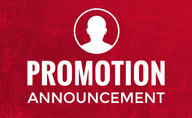 Promotion Announcement