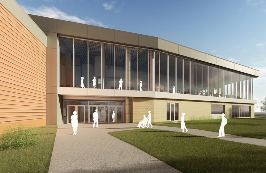 Verona Area School District New High School Rendering