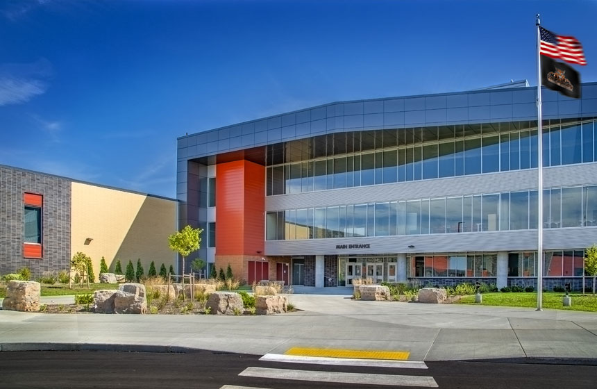 Verona Area School District New High School Exterior