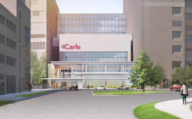 Carle Foundation Hospital Rendering