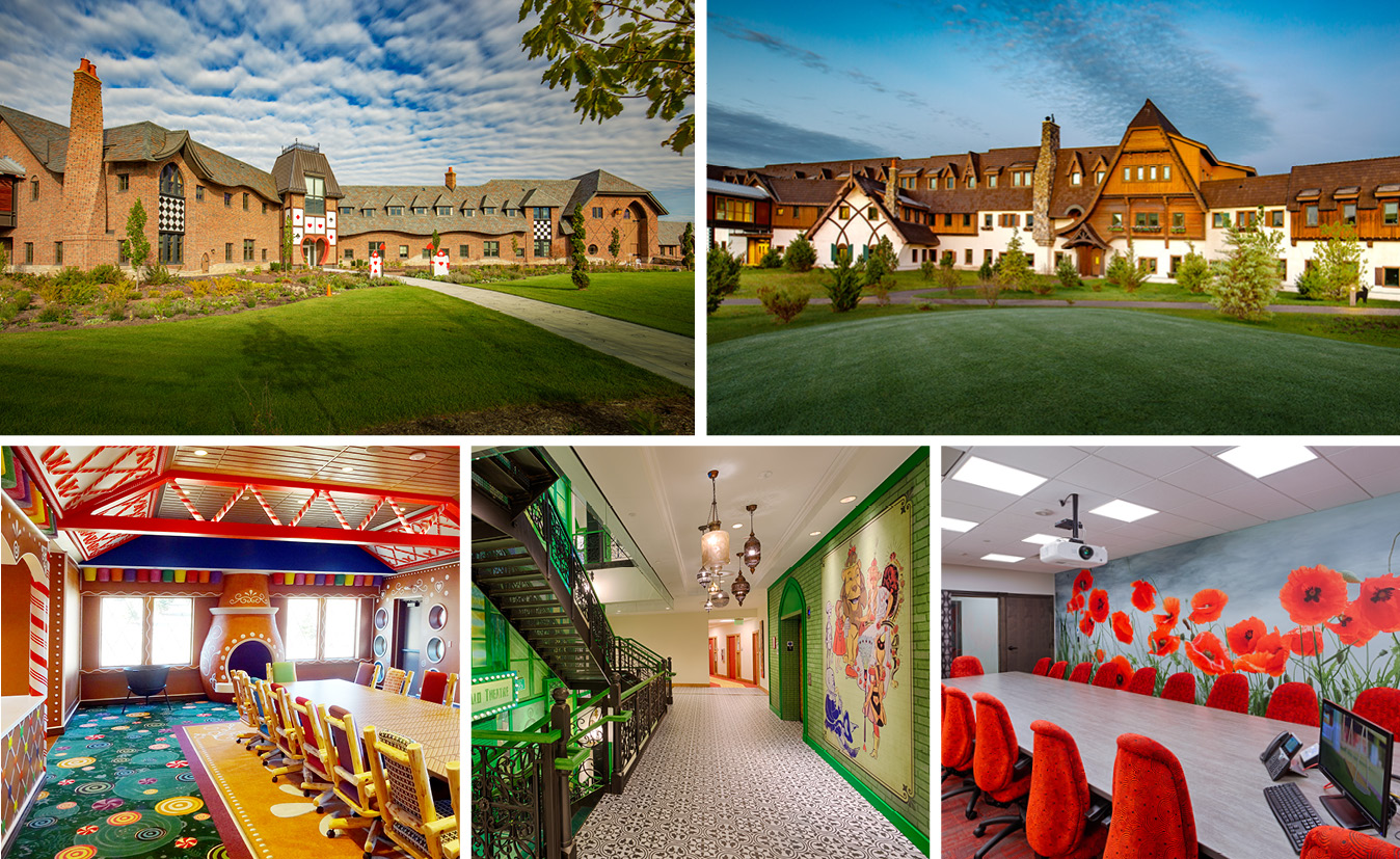 Using Common Materials In Uncommon Ways: Epic's Storybook Campus