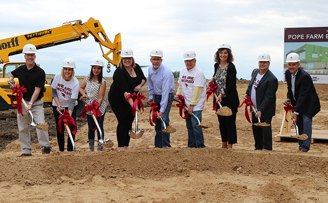Pope Farm Elementary Groundbreaking