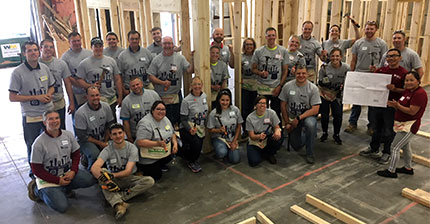 Findorff Madison Team Volunteer For Habitat For Humanity