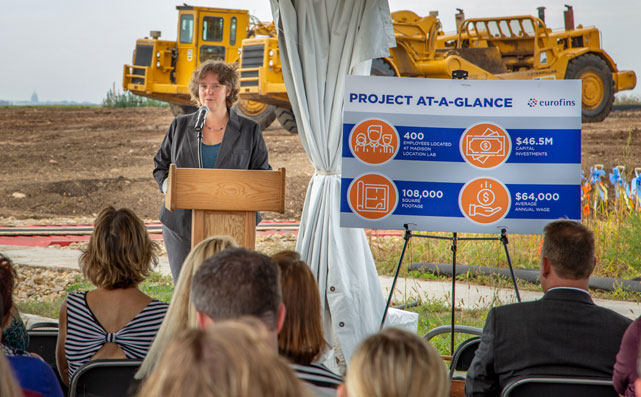 Eurofins Madison Groundbreaking