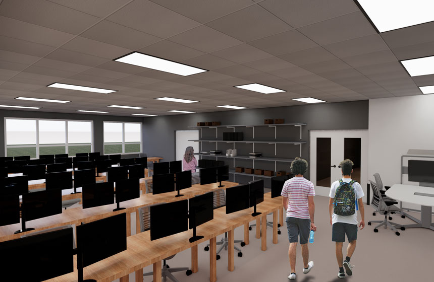 School District of Waukesha South High School Engineering Rendering
