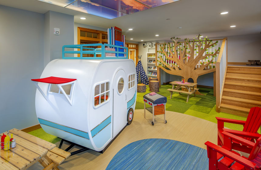 Ronald McDonald House Charities of Madison Playroom