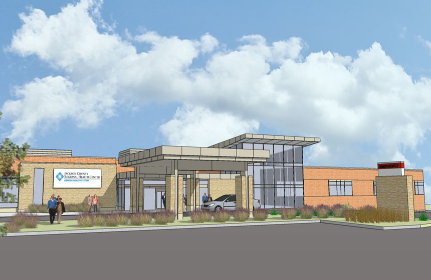 Jackson Country Regional Health Center Rendering