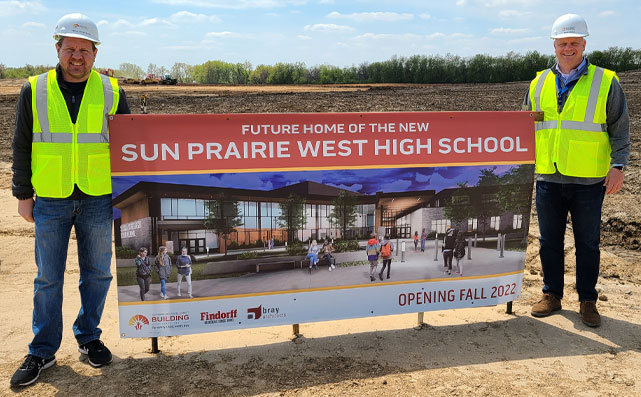 Sun Prairie West High School Virtual Groundbreaking