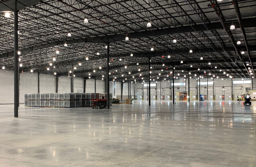 Research Products Distribution Facility Interior