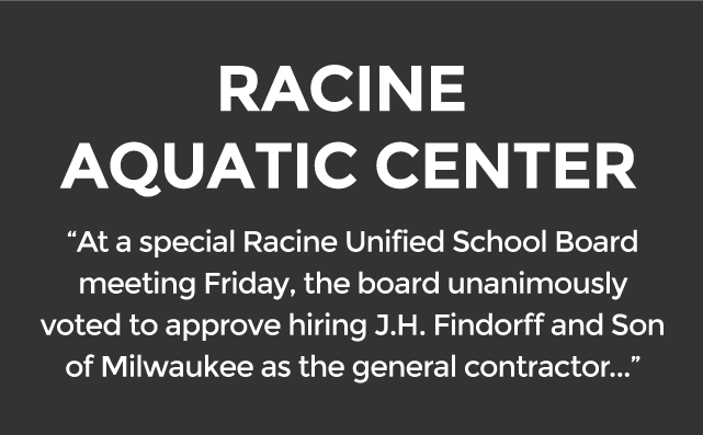 Racine Aquatic Center Approves Findorff