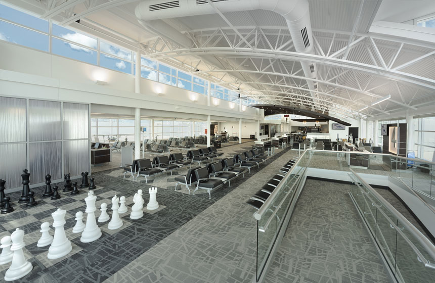 Central Wisconsin Joint Airport Concourse Renovation