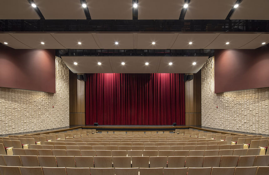 Edgewood McKinley Performing Arts Interior