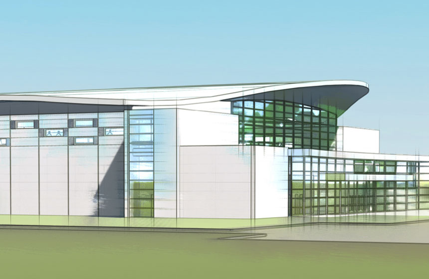 Racine Unified School District Aquatic Center Rendering