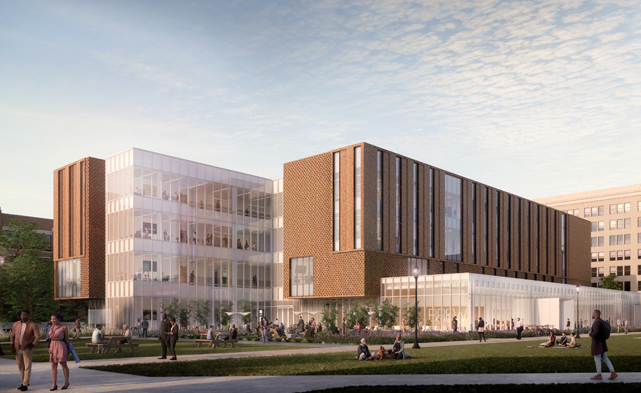 Marquette breaks ground on new school of business
