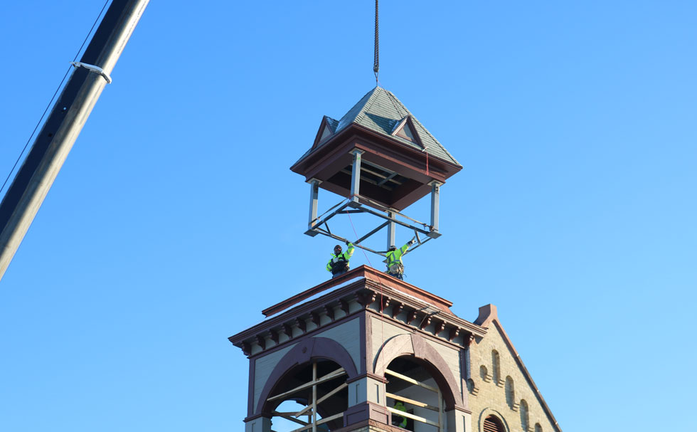 Sun Prairie Bell Tower Restoration