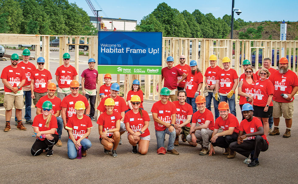 Building and Community are in Findorff's DNA