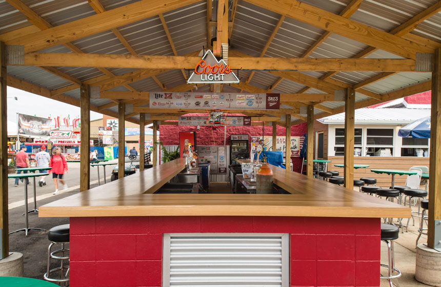 Sazs at the Wisconsin State Fair new bar